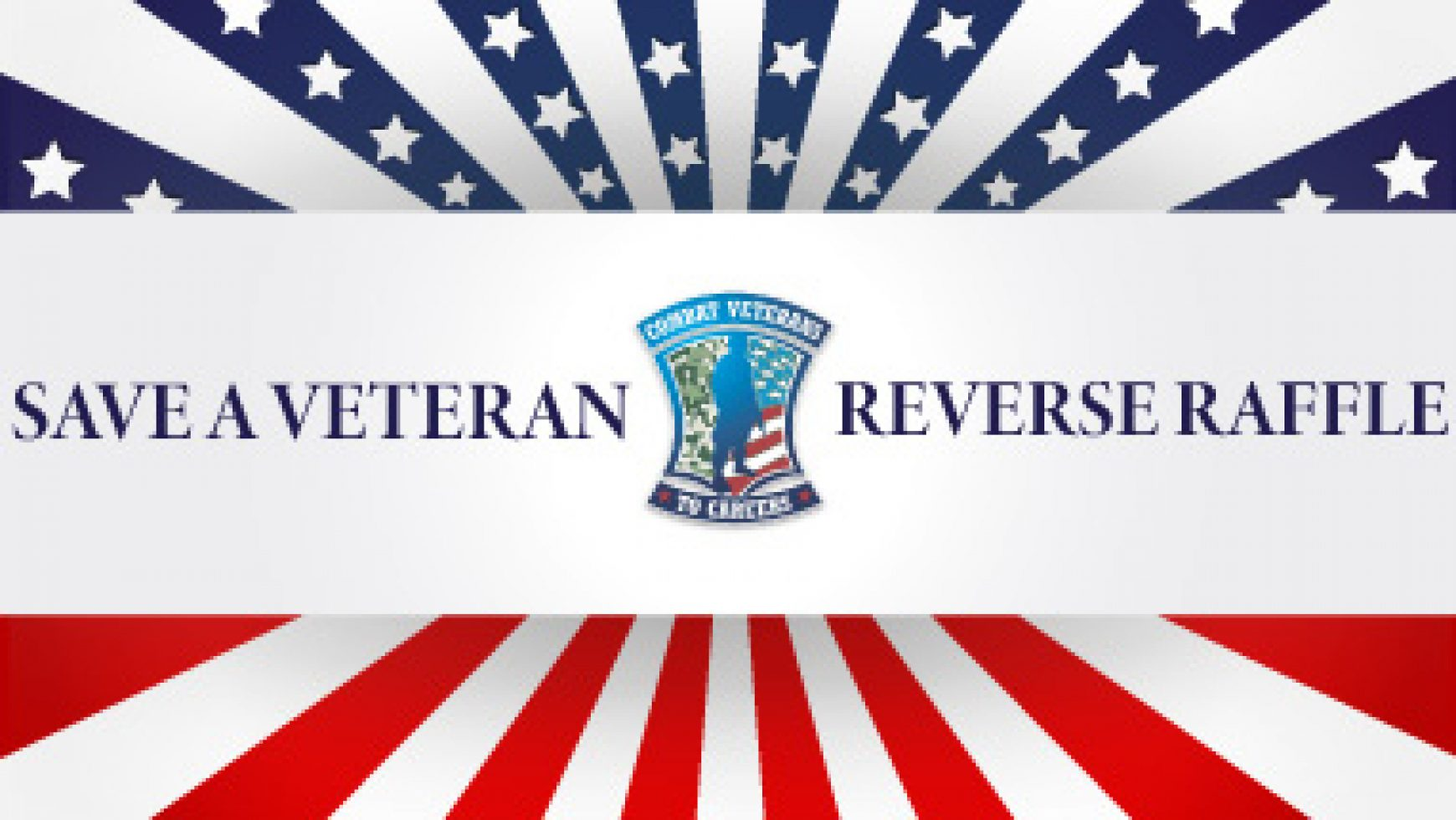 Save the Date: Save a Veteran Reverse Raffle