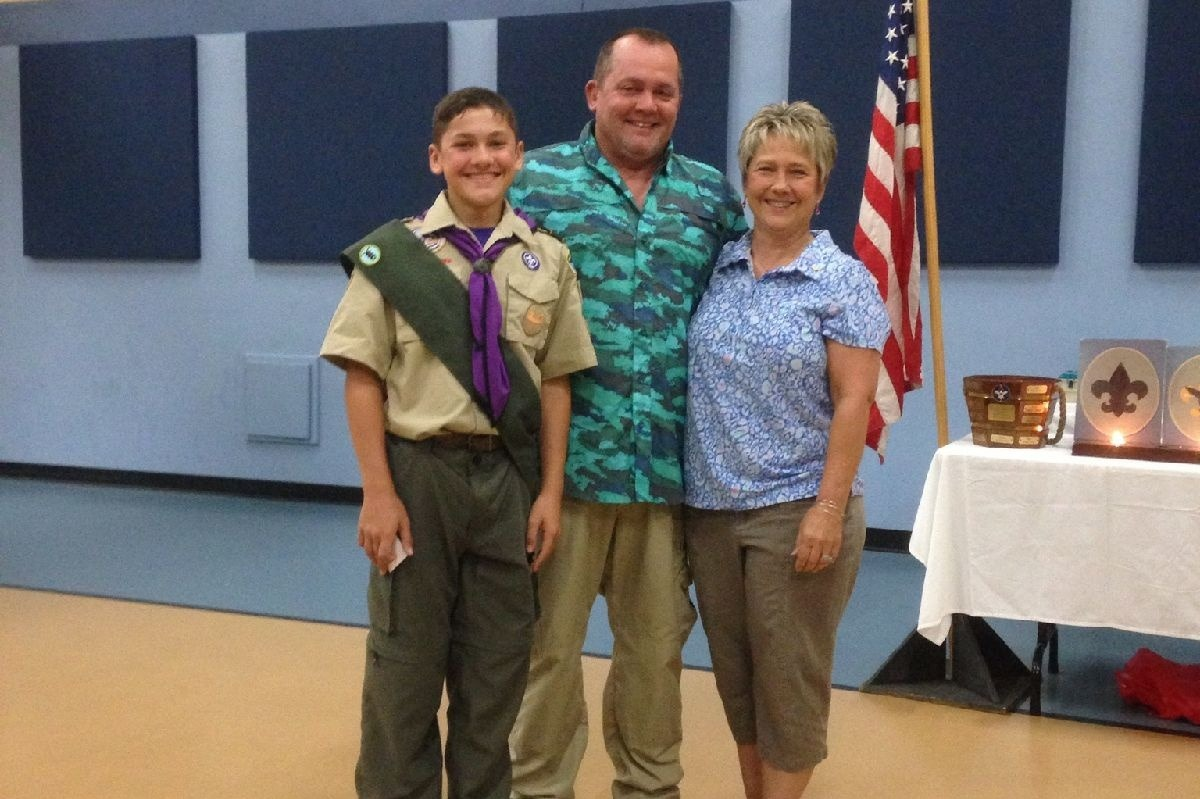 Fundraiser for Collin Nixon, Son of CVC Veteran