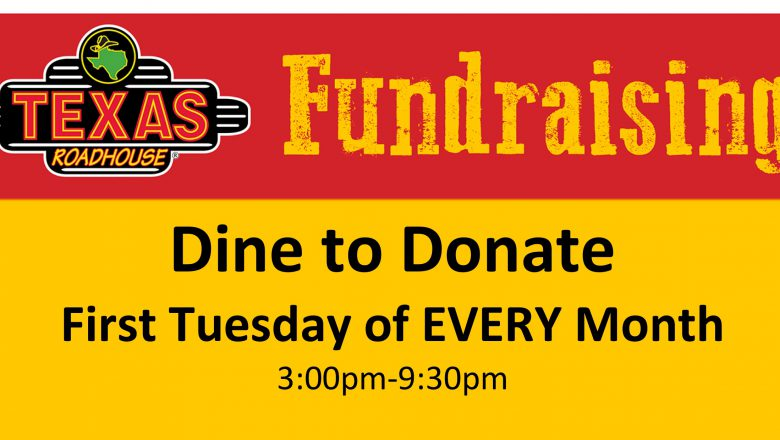 Dine to Donate at Texas Roadhouse in Lady Lake!