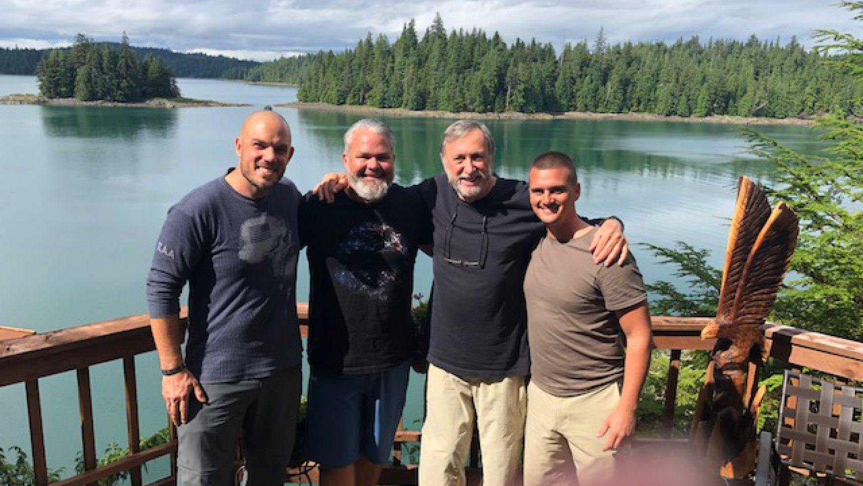 CVC Veterans Travel to Alaska with Project Healing Towers