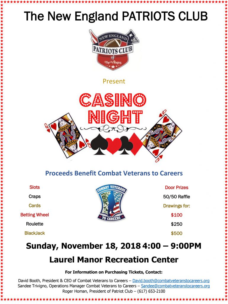 Casino Night Nov 18