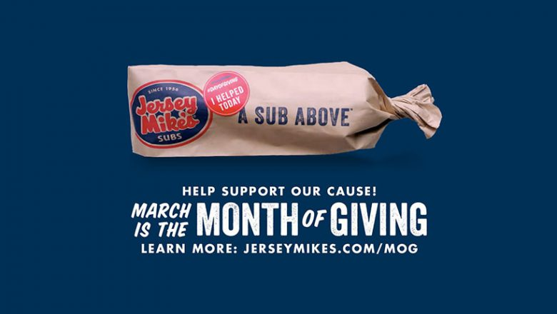 Support CVC During Jersey Mike's Subs' Month of Giving