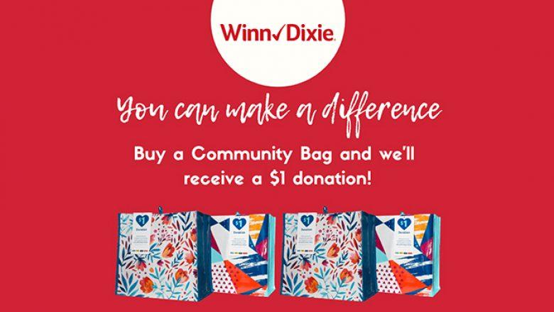 CVC Selected for Winn-Dixie's November Community Bag Program!