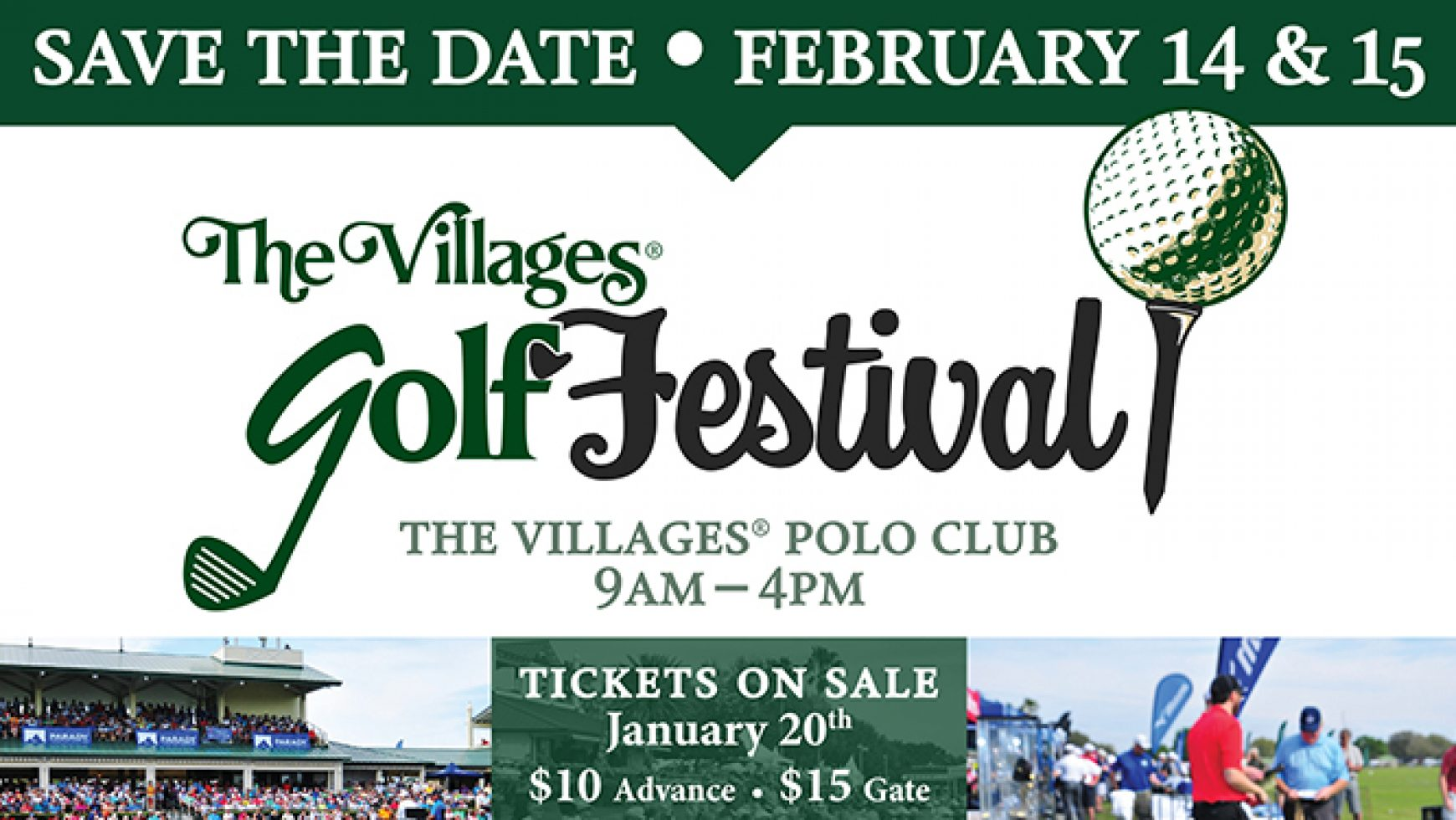 CVC to Host a Tent at The Villages Golf Festival