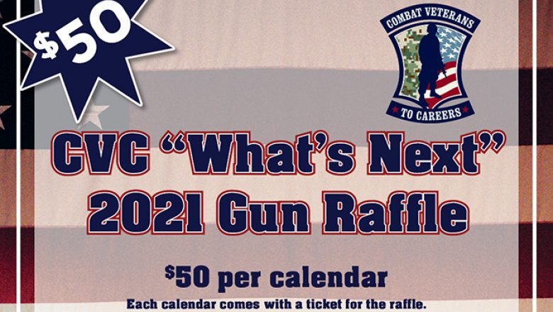 "Enter to Win in CVC's ""What's Next"" 2021 Gun Raffle!"