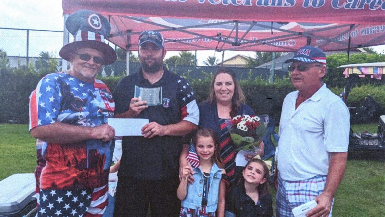 Fernandina & Friends Donates $5k to CVC Veteran