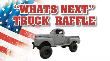 """CVC's """"What's Next"""" Truck Raffle Tickets Now Available"""