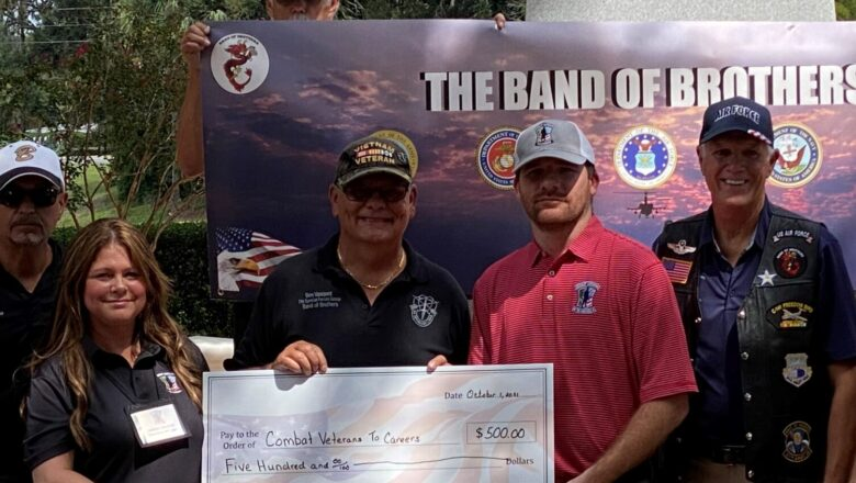 Band of Brothers Donate $500 to CVC